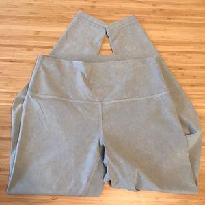 lululemon athletica Pants - Lululemon | Pale Grey Ankle Length Legging | Small